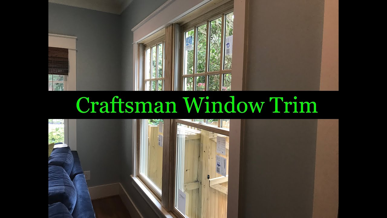 Craftsman Window Trim Project The Honest Carpenter