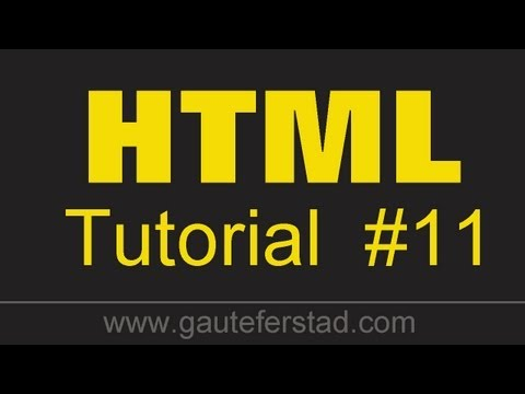 HTML Tutorial 11 Linking pages located in different folders - Part 2