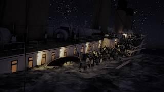 Titanic's Final Plunge - April 15, 1912