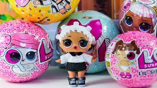 Куклы #ЛОЛ ПОСЫЛКИ! Декодер Glam Glitter ЛОЛ Сюрприз 1 Серия Распаковка игрушек LOL Surprise