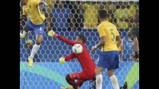 منتخب البرازيل يحقق الميدالية الذهبية في أولمبياد ريو 2016 بعد الفوز على ألمانيا عن طريق ركلات الترج