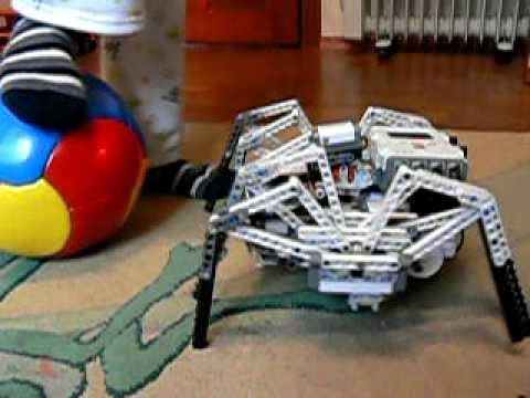 Lego Mindstorms NXT Spider - YouTube