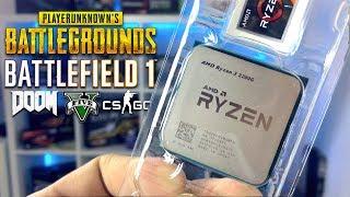 КАК ИГРАТЬ БЕЗ ВИДЕОКАРТЫ ЗА 6000 РУБ??? Бюджетный AMD Ryzen 3 2200G + Radeon Vega 8