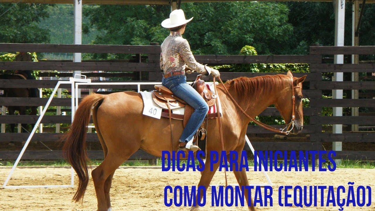 Dicas para Montar a Cavalo - Para iniciantes - YouTube 6f8b279f441