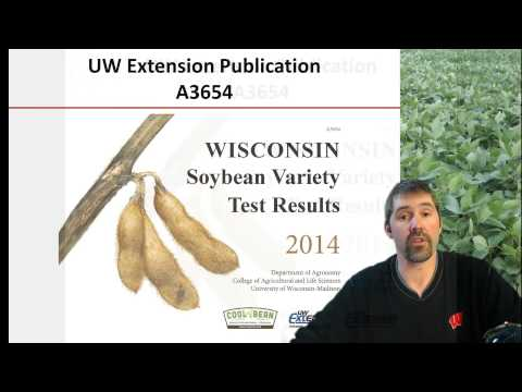 Soybean crop management in Wisconsin, 1/3