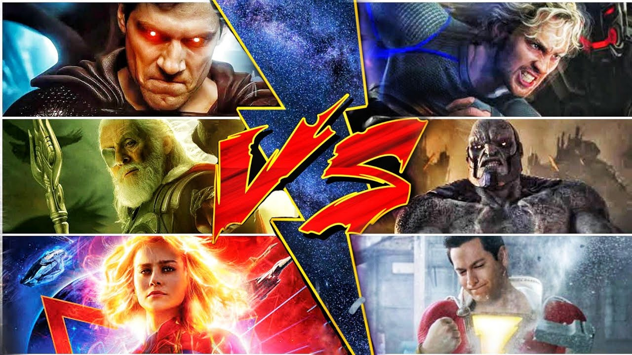 Superman Vs Quicksilver,Odin Vs Darkseid, Captain Marvel vs Shazam (Sunday with SUPERBATTLE) Ep 15