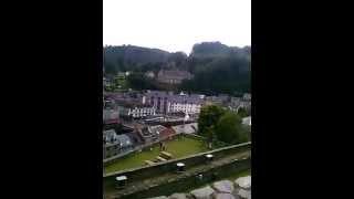 de kasteel van La Roche-en-Ardenne de mooie uitzicht 2014