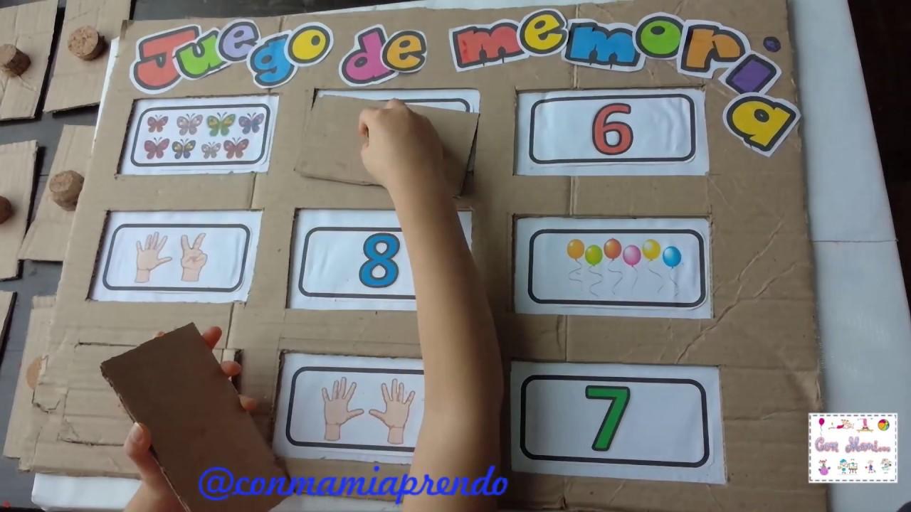 Actividad Para Niños De Preescolar Juego De Memoria Youtube