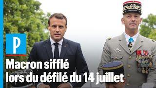 14 juillet : Macron accueilli sous les sifflets