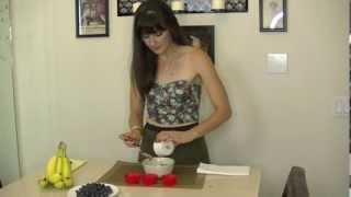 Bb Tarts- Raw, Vegan, Gluten Free & Paleo Banana Blueberry Tarts