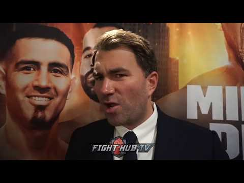 """EDDIE HEARN FRUSTRATED WITH CHARLO BROTHERS """"I'M OFFERING YOU 3X MORE THEN WHAT YOUR MAKING!"""""""