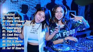 DJ PURE LOVE FULL BASS BREAKBEAT REMIX 2018