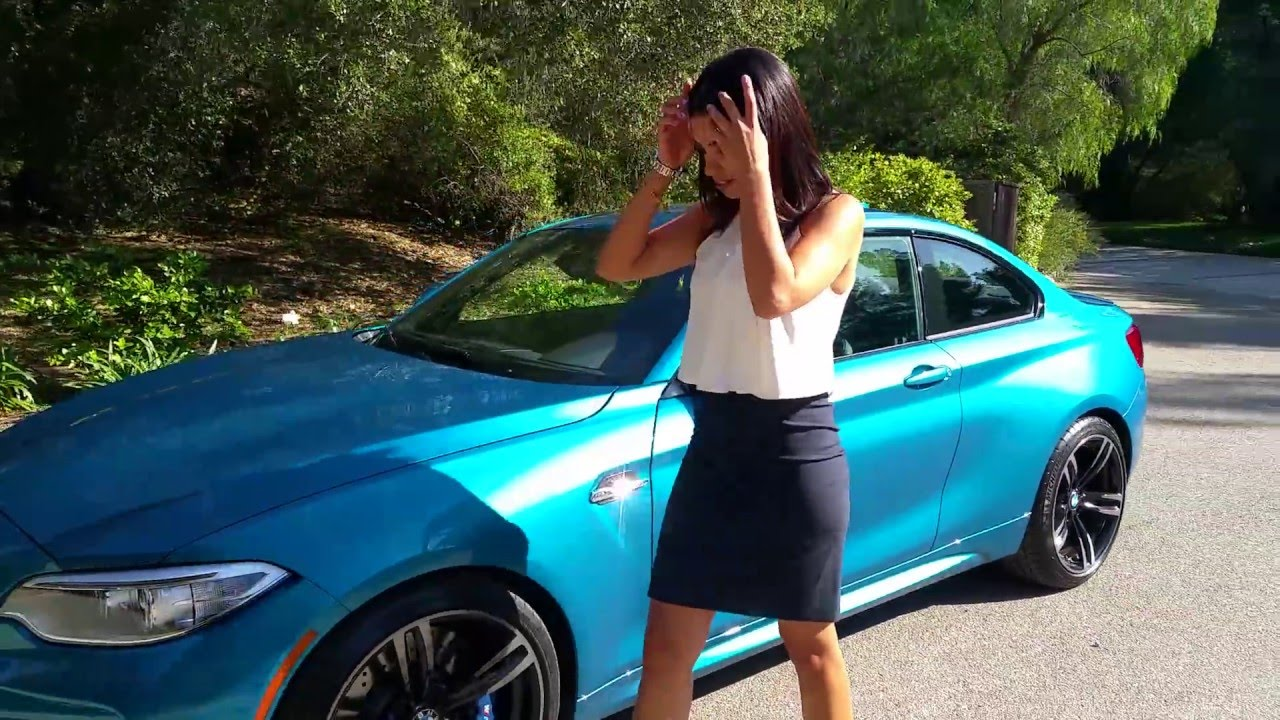 Bmw M2 Review Exhaust Sound Long Beach Blue Metallic