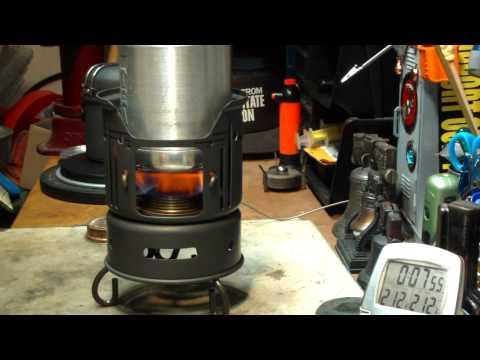 Alternative Pot For ALOCS 7 Piece Camping Cook Set - Boil Test