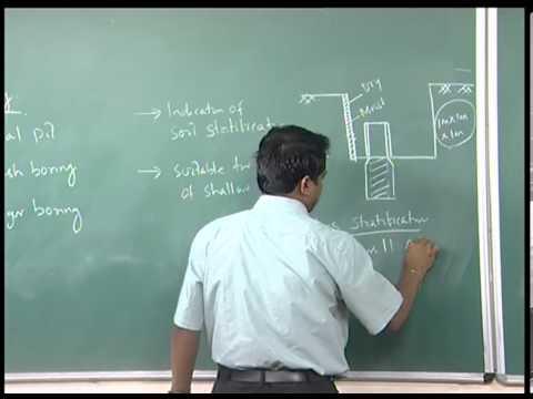 Mod-01 Lec-11 Lecture-11.Geotechnical Measurements & Explorations