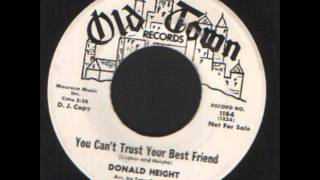 Donald Height - You cant trust your best friends - Soul Popcorn.wmv
