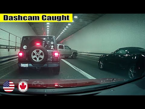 Ultimate North American Cars Driving Fails Compilation - 174 [Dash Cam Caught Video]