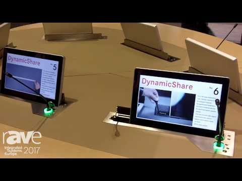 ISE 2017: Arthur Holm Explains DynamicShare Display