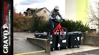 BACK ON BIKE | Streetbiking & Trial Tipps für Anfänger | Urban MTB Fun | Leo Kast #167