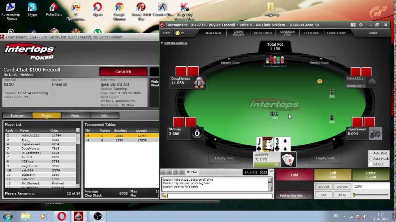 Cardschat Freeroll
