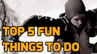 Infamous Second Son - Top 5 Fun Things to do in Free Roam!
