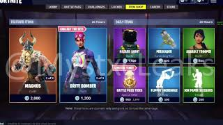 MAGNUS ET ASSAULT TROOPER DE RETOUR 16/8/18 ( FORTNITE FUITE MAGASIN D'ARTICLES!