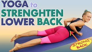 10 Yoga Poses To Strengthen Your Lower Back Б«—ОёЏ Erector Spinae Serratus Posterior  nferior Superior