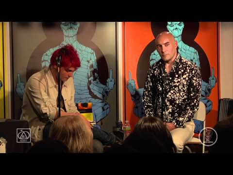 Meltdown Presents: an Evening w @GrantMorrison & @GerardWay (#MCR)