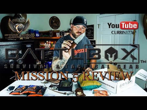 "BattlBox Review Mission 5 July 2015 ""Year of the Battlbox"""