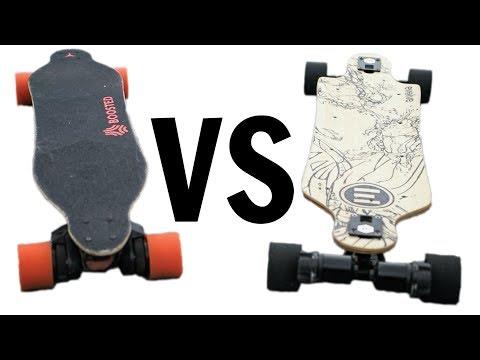 Boosted Board 2 VS Evolve Bamboo GT - Comparison