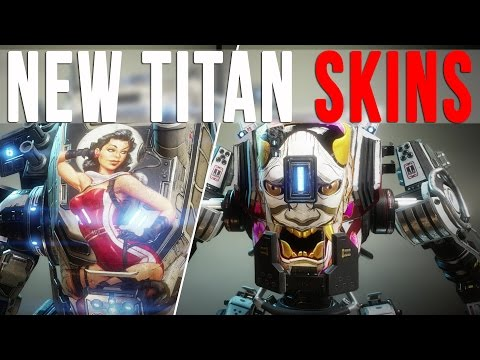 TITANFALL 2: NEW TITAN NOSEART SKINS (Angel City DLC Preview)