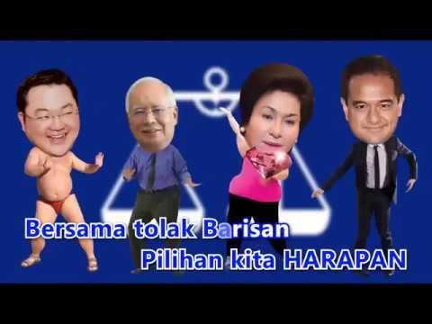 Lagu Viral Najib Oh Najib | Siapalah Yang Buat Video Ni | kahkah