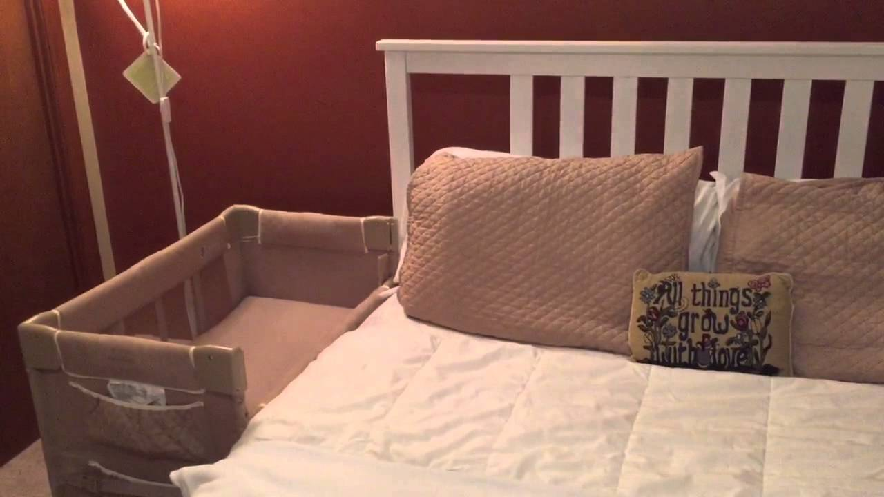 Co Sleeping With Your Baby Infant Set Up Youtube