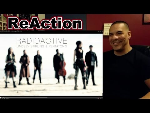 RadioActive - Lindsey Stirling and Pentatonix ReAction