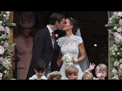 Traumhochzeit: Pippa Middleton und James Matthews geben sich das Ja-Wort