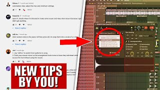 New FL Studio 20 tricks sent by you!
