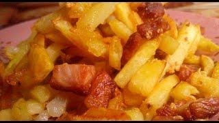 Жареная картошка в мультиварке редмонд. Рецепт хрустящей жареной картошки. Хрустящая картошка