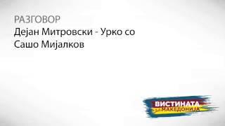 Разговор 2: Дејан Митровски : Урко со Сашо Мијалков