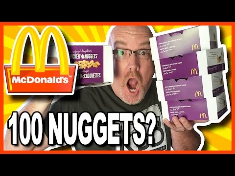 100 Chicken McNugget Challenge (Solo) $400.00 to Charity Thanks Simon