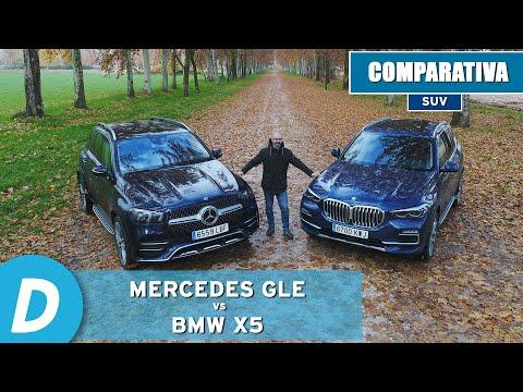 Comparativa SUV: Mercedes GLE vs BMW X5 | Review en español |  Diariomotor