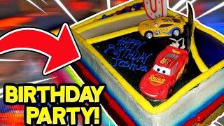 So I Went To a DISNEY PIXAR CARS 3 Birthday Party!