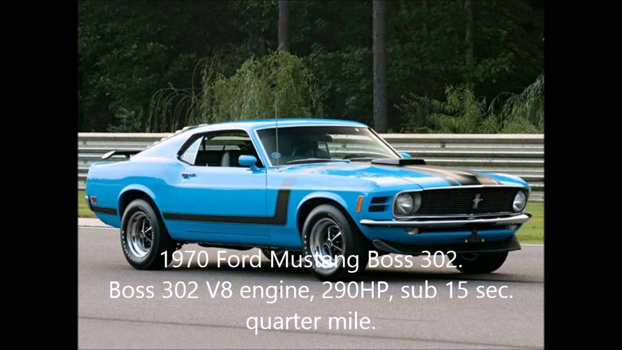 Top Ten Muscle Cars. - YouTube