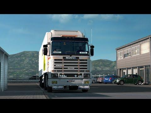 ETS2 1.28 ProMods 2.20 Scania 143 Honningsvåg - Murmansk
