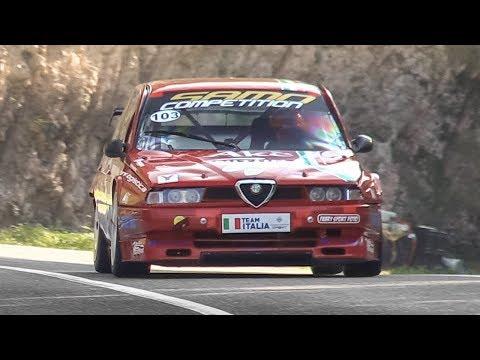 Alfa Romeo 155 2.0 TS D2 Evoluzione Ex Superturismo In Action On Hillclimb!
