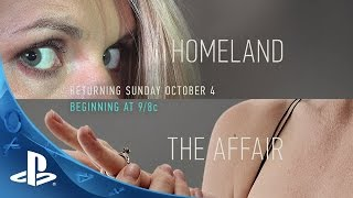 Get Ready For New Seasons of Homeland and The Affair on SHOWTIME®