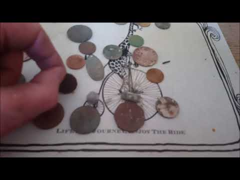metal detecting 9k gold and old coins with ctx 3030