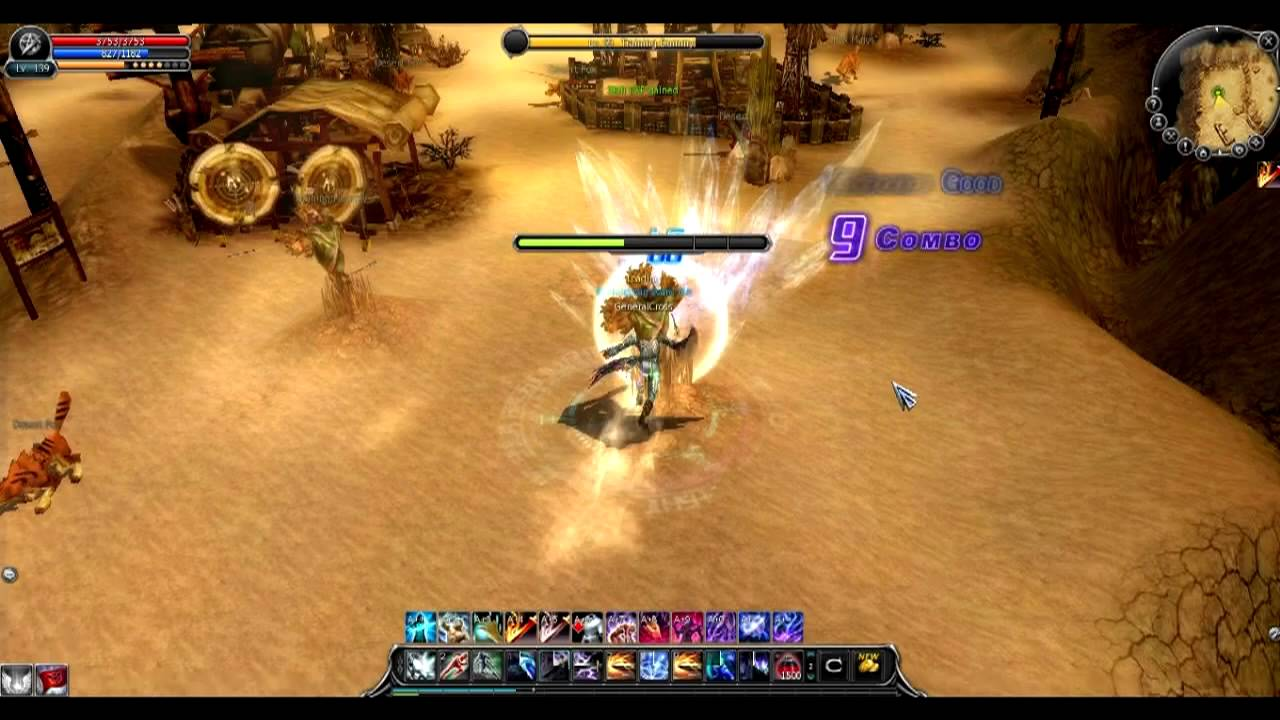 Cabal Online Eu My Force Blader Pvp Combo Updated Version Youtube