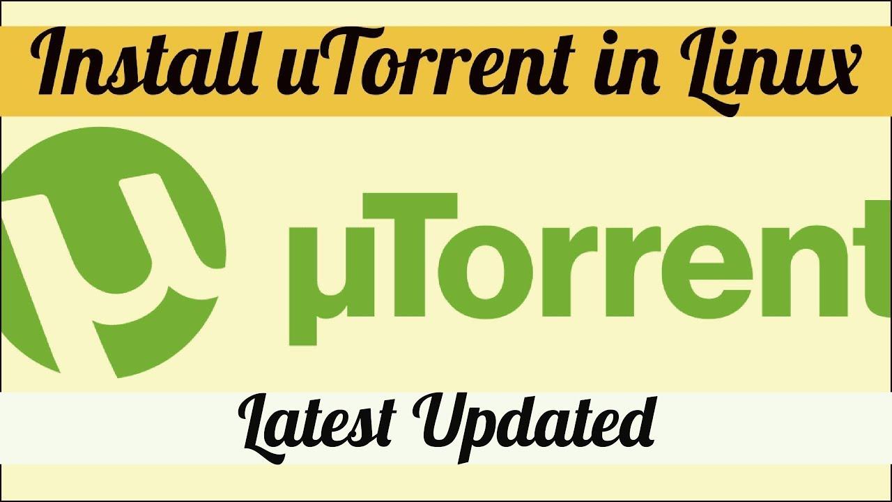 utorrent server arch linux