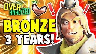 Overwatch Coaching! | IN BRONZE FOR 3 YEARS?! [OverAnalzyed]