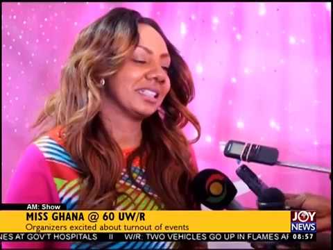 Miss Ghana @ 60 UW/R - AM Show on JoyNews (17-8-17)